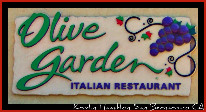 Do You Have a Favorite Restaurant? How about trying Olive Garden!