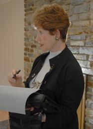 Margaret Rome speaking