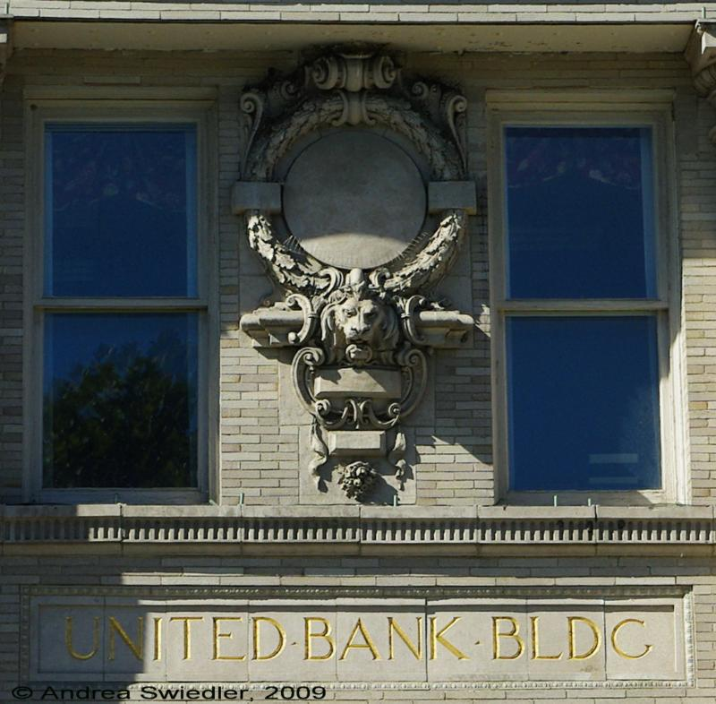 Bank Building Downtown New Milford