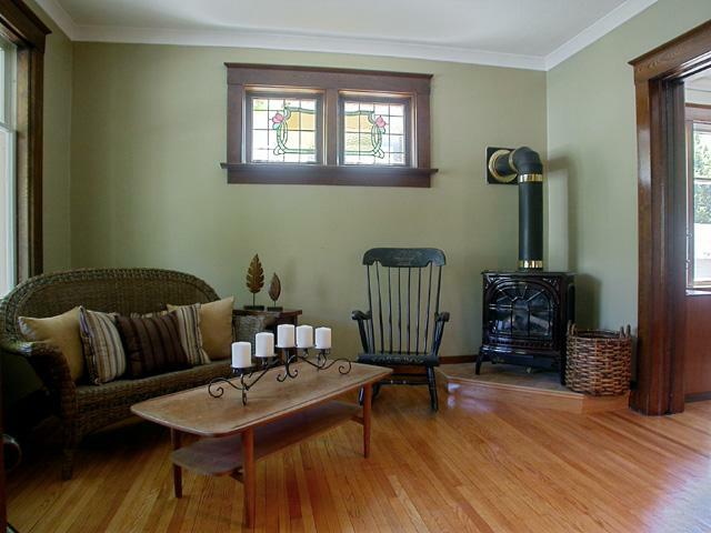 Living Room Decorating Ideas For Old Homes staged to sell: stunning kitchener century home sold first day on