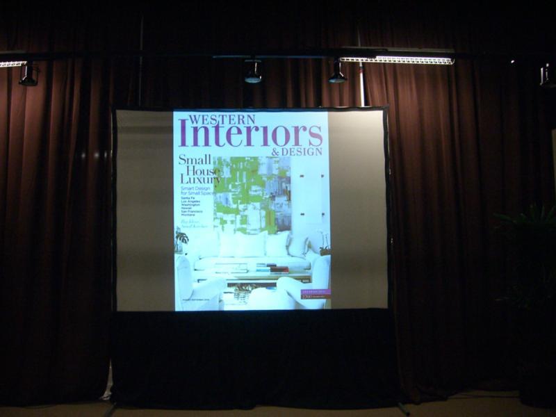 June/July Cover of Western Interiors & Design Magazine