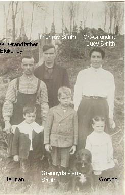 Thomas Smith and Granny-da and family