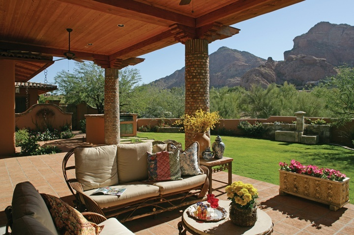 jim rogers designs appealing southwestern architecture in paradise valley and scottsdale arizona. Black Bedroom Furniture Sets. Home Design Ideas