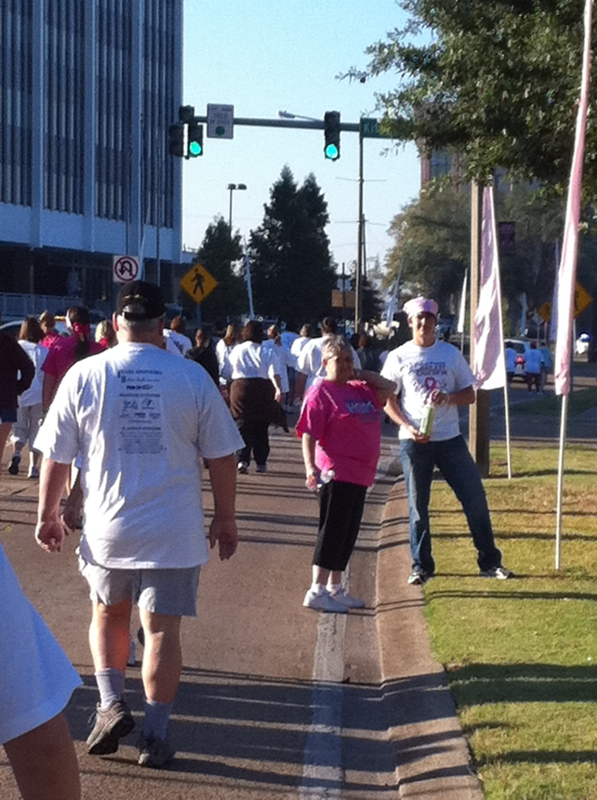 Ethel Precht Cancer walk