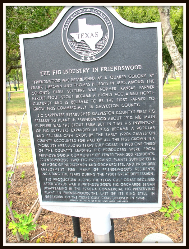 Historical Markers in Friendswood