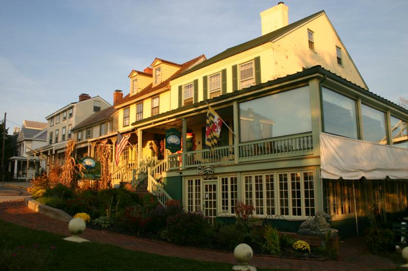 Bayard House Restaurant in the Shopping District On Bohemia Ave In Chesapeake City MD