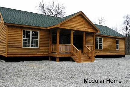 Modular Home Modular Homes Log Siding