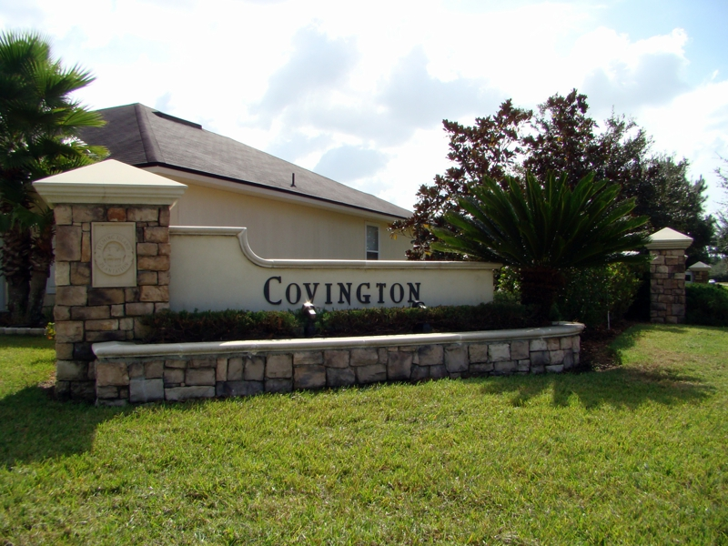 Entrance to Covington
