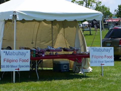 Canton Liberty festival food