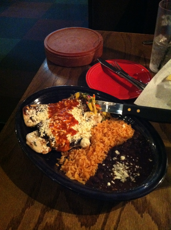 Chipotle Lime Chicken at Loco Lime Charlotte