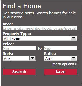 Search homes here