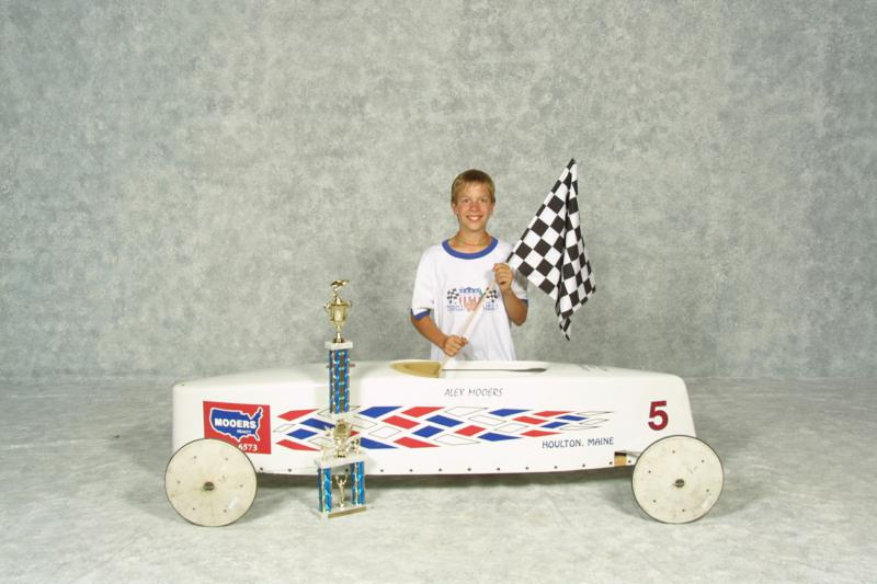 maine soap box derby racer
