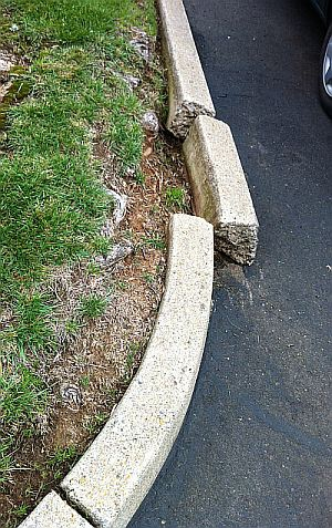 Concrete curb appeal
