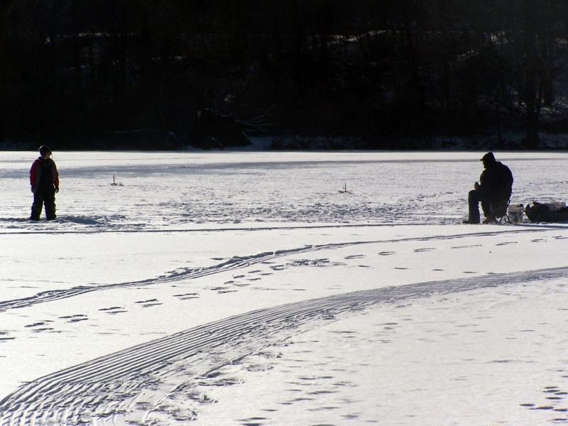 connecticut ice fishing