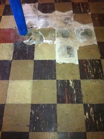 Asbestos 9\'\'x9\'\' Floor Tile VAT
