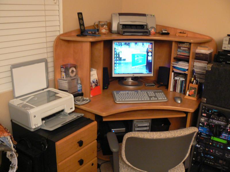 Brad Andersohn's Home Office