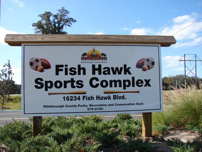 Fish hawk sports comples fish hawk blvd lithia florida 33547 for Fish hawk fl
