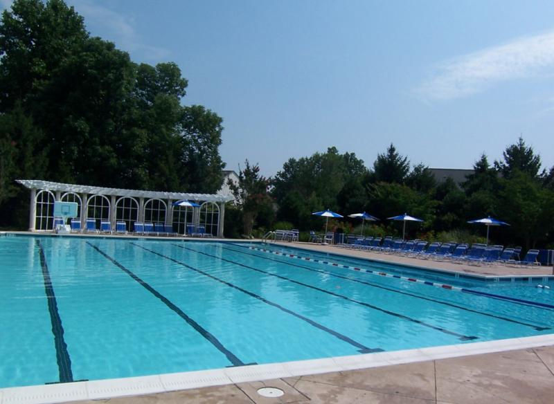 Swim Club in Barrington Community in Fairfax Station
