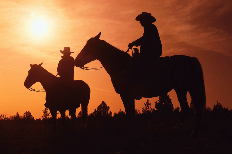 Code of the West Conjures Images of Cowboys on Horseback