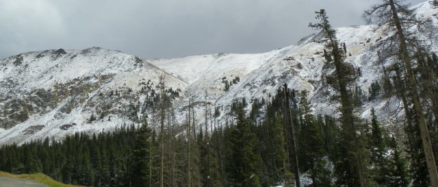 FRESH SNOW ON THE DIVIDE - SKI SEASON IS NEAR.