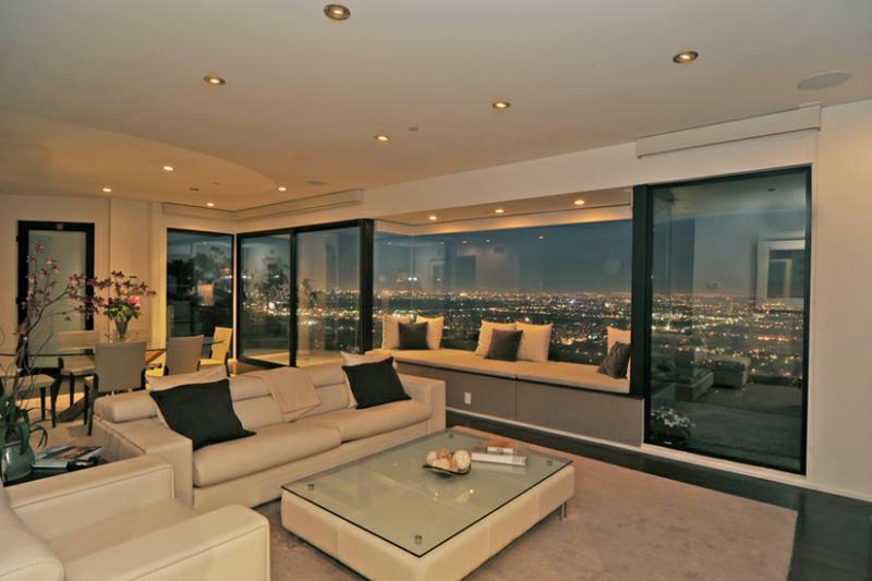 Hollywood Hills House With Jet Liner Views Asking Price 290000000 - Hollywood-hills-architectural-masterpiece