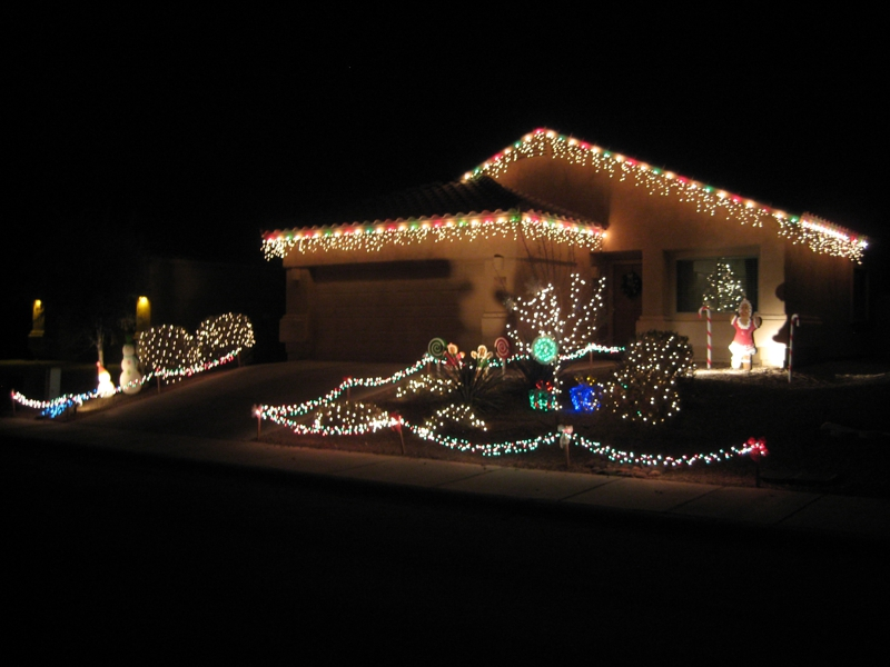 Christmas Lights In Gladden Farms
