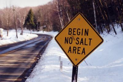 no salt sign