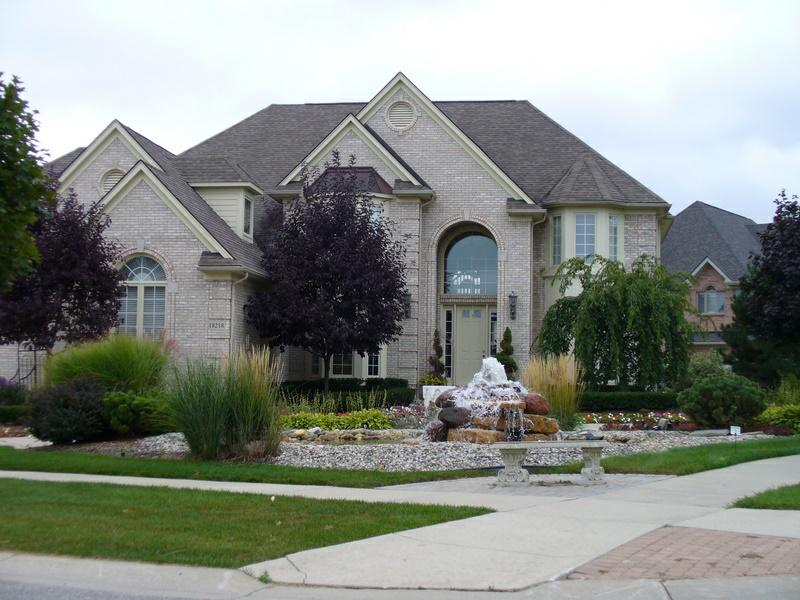 Stonewater subdivision northville mi stonewater homes House builders in michigan