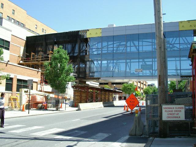 Exterior: New Pedestrian Crossing At Lancaster General Hospital