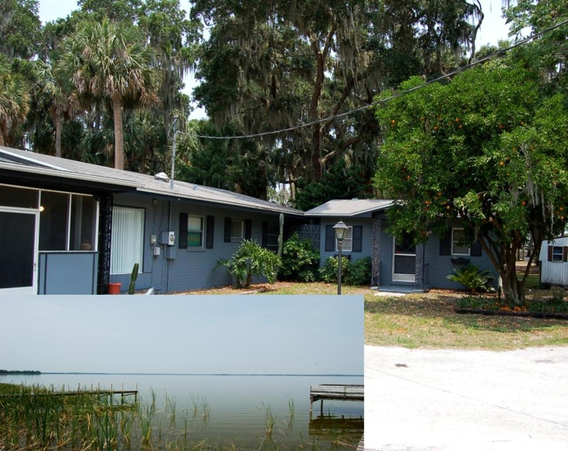 Lakefront home for sale lake griffin leesburg florida for Fish camps for sale in florida