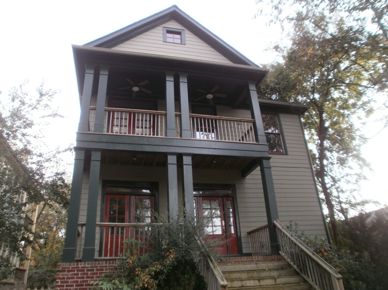 Gorgeous craftsman style homes in kirkwood neighborhood for Craftsman homes atlanta