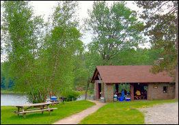 Promised Land State park Picnic Pavilion