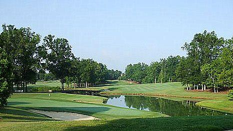 Huntersville north carolina public golf courses birkdale for Traditions charlotte nc