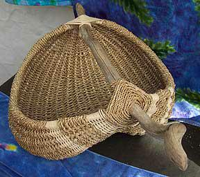Sharon Gunter Driftwood baskets