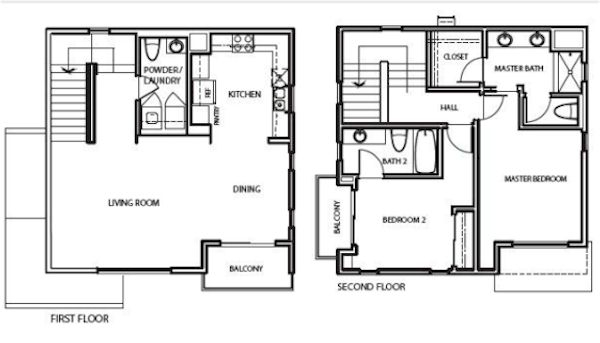 36 on Echo New Construction in Echo Park model unit is floor plan #9