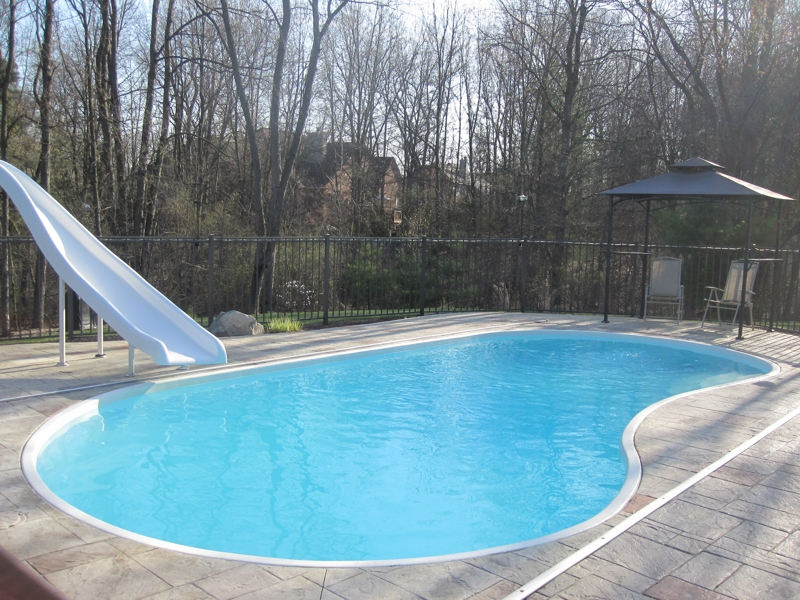 Luxury home for sale in the dominion sub in brighton m for Pool show michigan