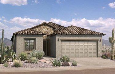 Merrill Ranch, Florence AZ Del Webb Community New Build - 8029 W Candlewood Way