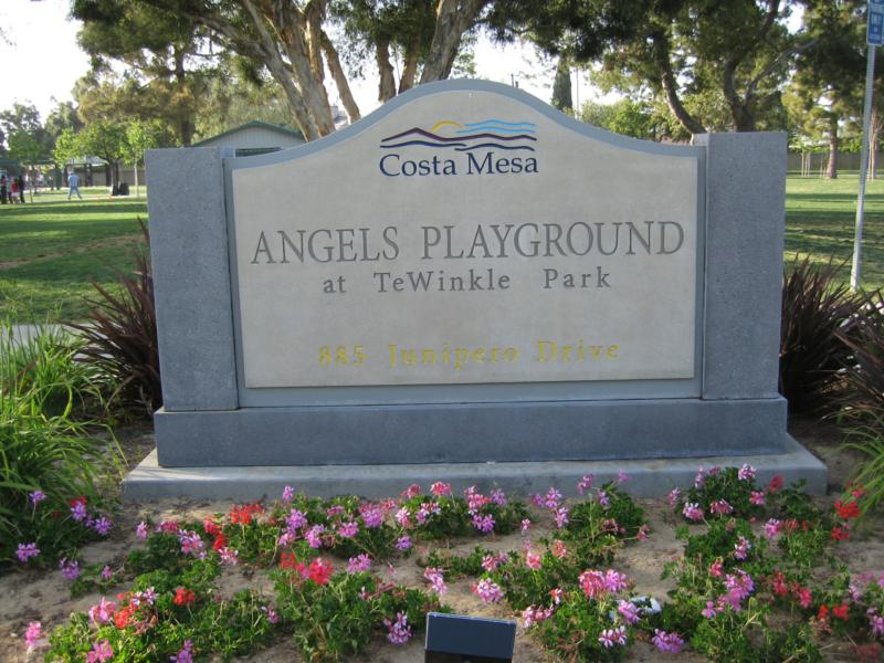 Angels Playground Tewinkle Park Costa Mesa