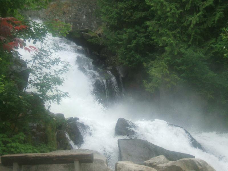 bristish columbia waterfall