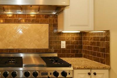 Stone Subway Tile Kitchen Backsplash Kitchen Tile Backsplash Ideas