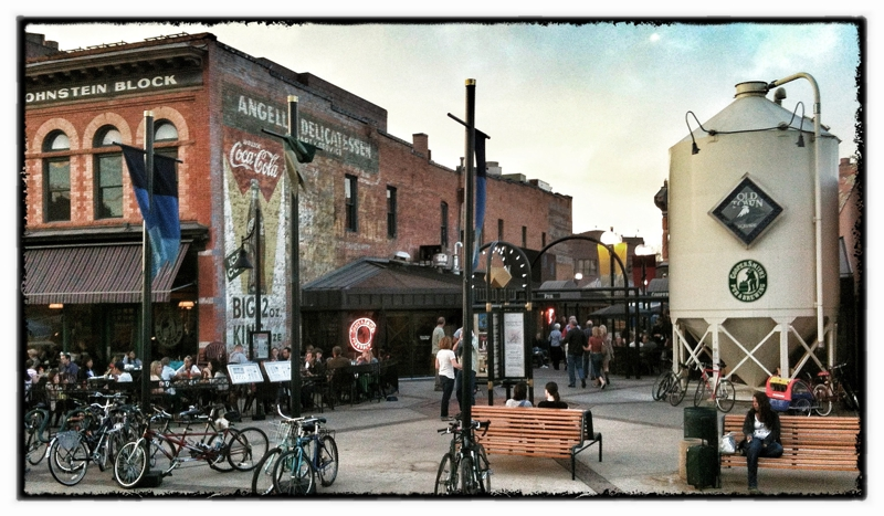 Friday Night In Old Town Fort Collins Co