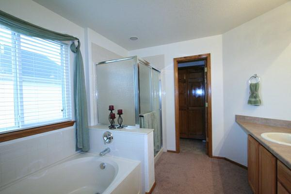 after staging bathroom