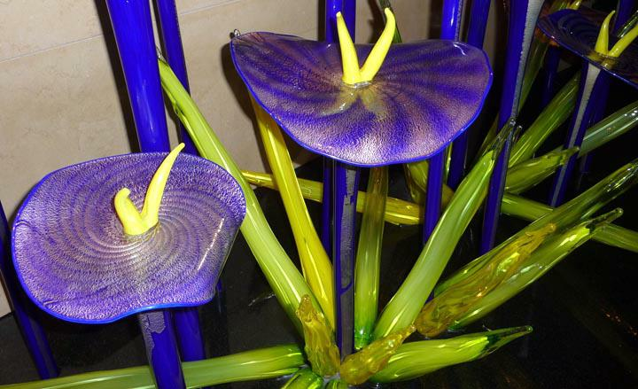 Chihuly Blue Flowers HomeRome Realty