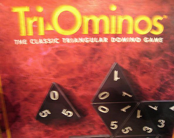 Tri - Ominoes Game Box
