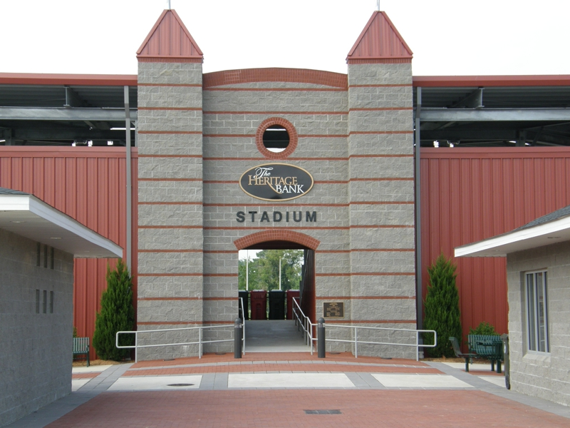 Picture of the Heritage Bank Stadium