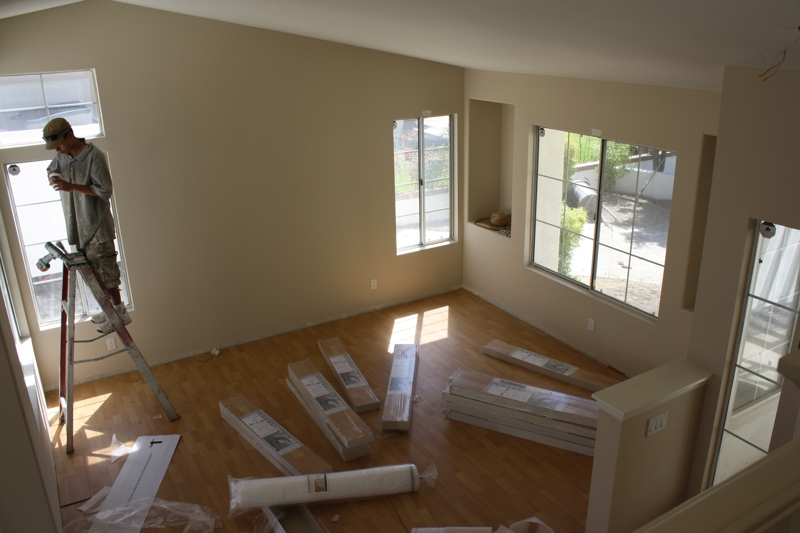 Vacant Murrieta Living Room