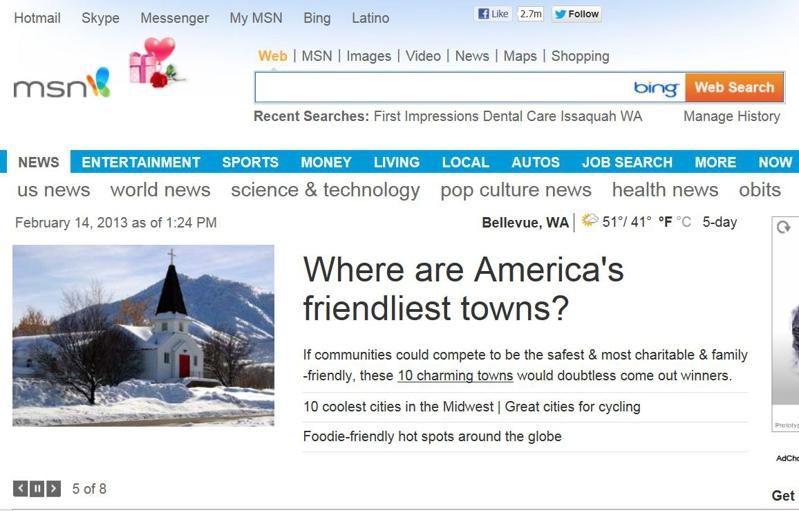 Sammamish WA, America's Friendliest Hometown According to ...