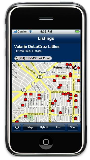 Search for homes on your iPhone