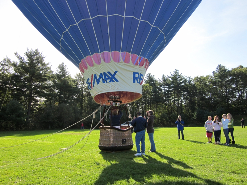 Remax Balloon at Franklin MA School