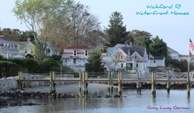 Wickford RI waterfront homes